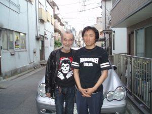 ミッキ―カーチス様とNAKARAIの2ショット画像