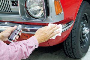 旧車のメッキの輝きを復活させる手入れ方法
