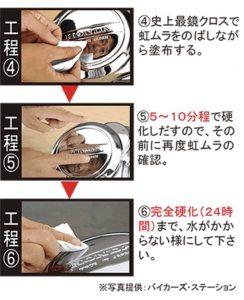 メッキング塗布の仕方2